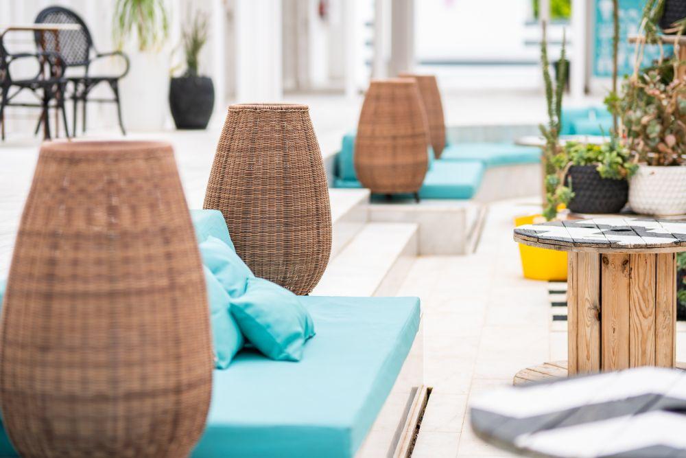 mobiliario para hoteles de gran canaria, Gold By Marina, confeccionados por Decomanuel Canarias